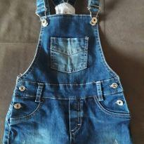 Jardineira jeans - 2 anos - MRX Kids