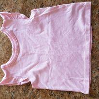 Blusa rosa - 6 a 9 meses - Place