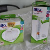 Tira leite Lillo manual + 2 potes para armazenar leite -  - Lillo