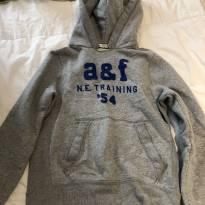 casaco moletom abercrombie - 10 anos - Abercrombie