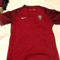 camisa futebol Portugal original - 10 anos - Nike