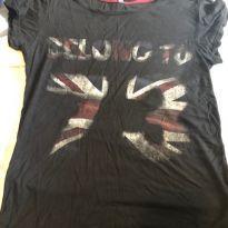 camisa malha london - 12 anos - Sem marca