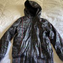 casaco neve forrado de fleece, impermeável, zara - 9 anos - Zara