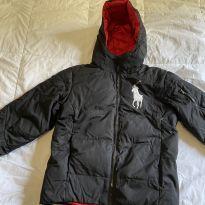 casaco preto para neve ralph lauren nunca usado