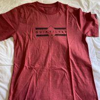 camisa malha quiksilver - 10 anos - Quiksilver