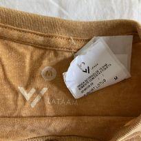 camisa malha meia manga nova, com etiqueta - 10 anos - Sem marca