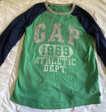camisa manga longa GAP - 12 anos - GAP