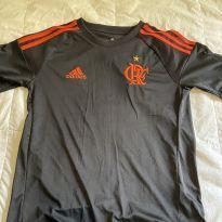 camisa Flamengo preta - 14 anos - Adidas