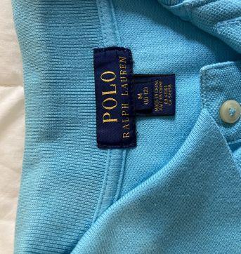 Camisa polo Ralph Lauren azul clara - 10 anos - Ralph Lauren