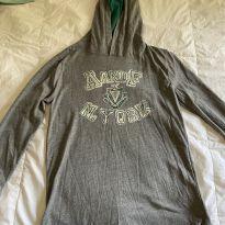 camisa malha abercrombie manga comprida e capuz - 10 anos - Abercrombie