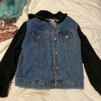 jaqueta jeans - 12 anos - Sem etiqueta Importado