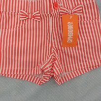 Shorts listrado gymboree - 2 anos - Gymboree