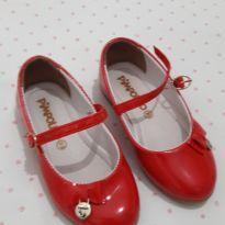 Sapato social vermelinho Pimpolho 23 - 23 - Pimpolho