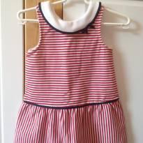 Vestidinho  estilo marinheira - 12 a 18 meses - Janie and Jack