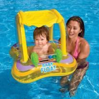 Bóia inflável Baby Bote amarela para bebês -  - Intex