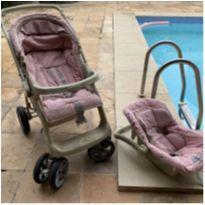 Carrinho de bebê e bebê conforto Burigotto -  - Burigotto