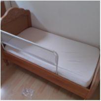 Berço + mini cama em madeira maciça -  - Idea Kids