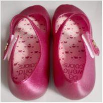 Sapatilha Infantil World Colors - Rosa - 25 - World Colors