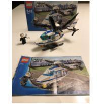 Lego city 7741 helicóptero de polícia -  - Lego