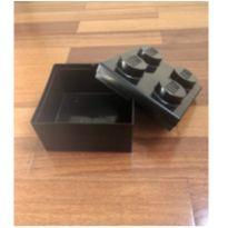 Caixa preta lego - porta-trecos , porta-legos e lancheira -  - Lego