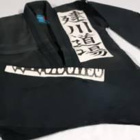 Kimono preto - 7 anos - Não informada