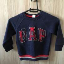 Blusa de moletom GAP - 2 anos - Baby Gap