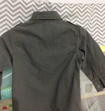 Camisa de manga comprida - 3 a 6 meses - Baby Club