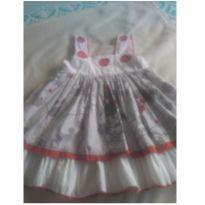 Vestido de joaninha - 3 anos - Cattai