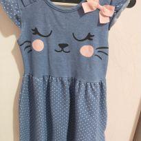 Vestido gatinha - 2 anos - Poim