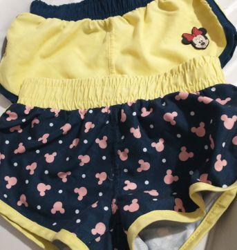 Kit short Minnie - 18 a 24 meses - Disney