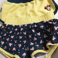 Kit short Minnie - 18 a 24 meses - Disney