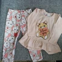 Pijama ursinho - 2 anos - KiKA