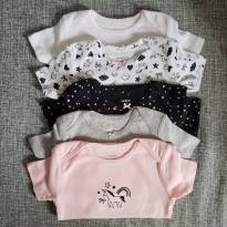 Kit 5 Bodies - 18 a 24 meses - Carter`s