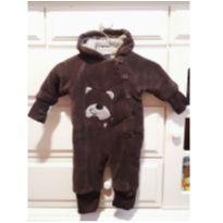 Macacão ursinho quentinho - 3 a 6 meses - Tip Top