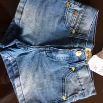 Shorts Jeans com strech - Lilica Ripilica- 4 anos - 4 anos - Lilica Ripilica