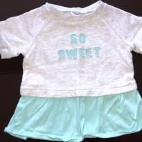 Camiseta Moletom Carters, 9 meses, usado 2x - 9 meses - Carter`s