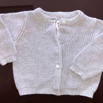 casaco de linha OshKosh Bgosh , Cinza com fios de prata, 9 meses - 9 meses - OshKosh