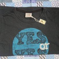 camiseta yes - 7 anos - Zara