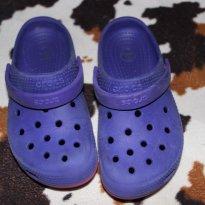 Crocs Roxa - 30 - Crocs