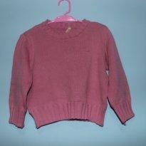 Blusa e lã rosa - 2 anos - Alô bebê