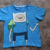 Camiseta h. de aventura - 6 anos - Cartoon Network