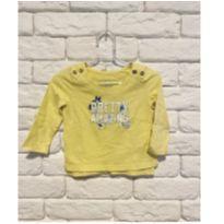 Camisa Pretty - 6 a 9 meses - OshKosh