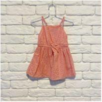 Vestido Coral - 6 a 9 meses - OshKosh