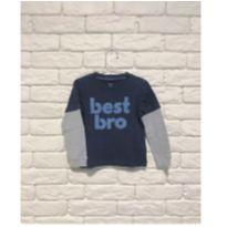 Blusa Best Bro - 18 a 24 meses - Carter`s