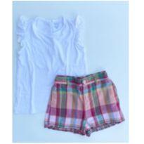 Conjunto de short e blusa da Ralph Lauren
