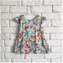 Vestido colorido Zara 9 meses - 6 a 9 meses - Zara