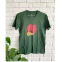 Camisa verde pica pau