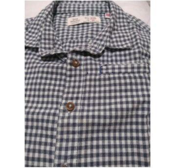 Camisa xadrez Zara - 9 a 12 meses - Zara Baby