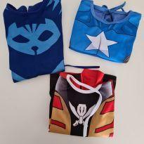 Kit fantasia super herói - 4 anos - Fantasias  Sulamericana