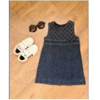 Vestido Jeans Tommy Hilfiger - 2 anos - Tommy Hilfiger